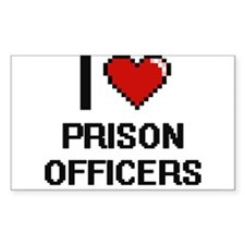 I love Prison Officers Decal