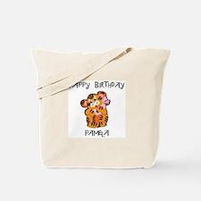 Happy Birthday Pamela (tiger) Tote Bag