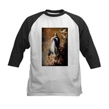 Immaculate Conception by Murillo Baseball Jersey