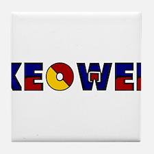 Keowee Tile Coaster