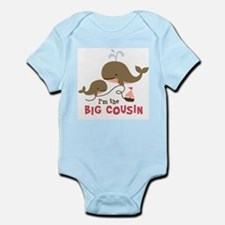 Cute I%27m big cousin Infant Bodysuit