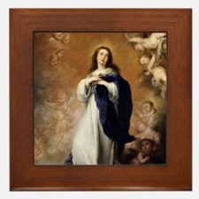 Immaculate Conception by Murillo Framed Tile