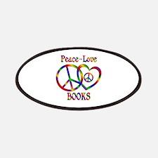 Peace Love Books Patch