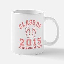 Class of 2015 Flip-Flop Mugs