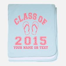 Class of 2015 Flip-Flop baby blanket
