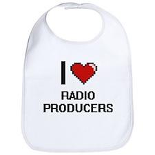 I love Radio Producers Bib