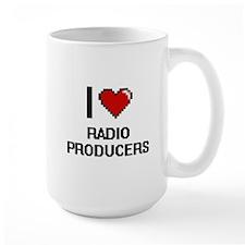 I love Radio Producers Mugs