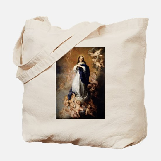Immaculate Conception by Murillo Tote Bag