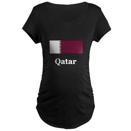 Qatari Heritage Maternity Dark T-Shirt