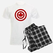 Captain Canada Shield Symbol Pajamas