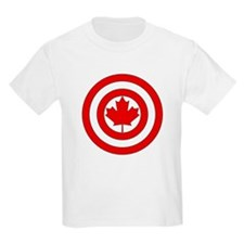Captain Canada Shield Symbol T-Shirt