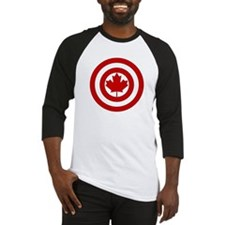 Captain Canada Shield Symbol Baseball Jersey