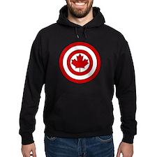 Captain Canada Shield Symbol Hoodie