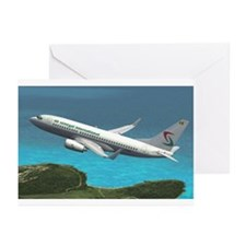Oceanic airlines Greeting Cards (Pk of 10)