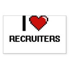 I love Recruiters Decal