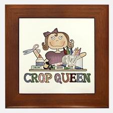 Crop Queen Framed Tile