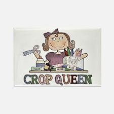 Crop Queen Rectangle Magnet