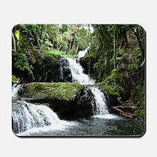 Tropical Waterfall Mousepad
