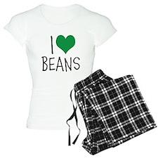 I Love Beans Pajamas