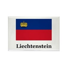 Liechtenstein Rectangle Magnet