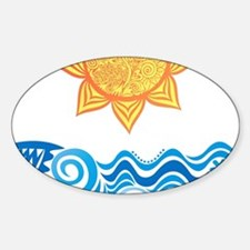 Sun and Sea Decal