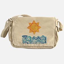 Sun and Sea Messenger Bag