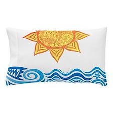 Sun and Sea Pillow Case