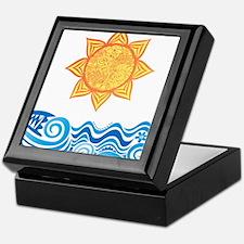 Sun and Sea Keepsake Box