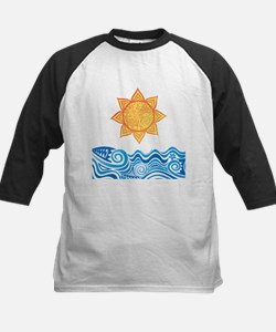 Sun and Sea Baseball Jersey