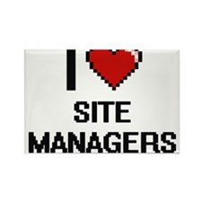 I love Site Managers Magnets