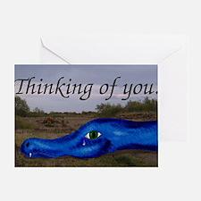 Weeping Dragon Condolence Card