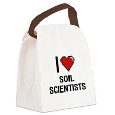 I love Soil Scientists Canvas Lunch Bag