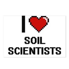 I love Soil Scientists Postcards (Package of 8)