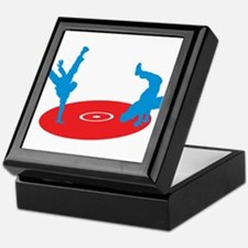 B-boy Break Dance Street Artist Black Keepsake Box