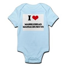I love Marblehead Massachusetts Body Suit