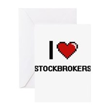 I love Stockbrokers Greeting Cards