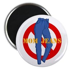 No Mom Jeans Magnet