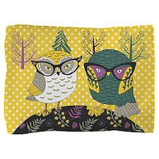 Trendy Owls Pillow Sham