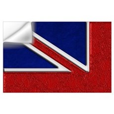 Union Jack British Flag Wall Decal