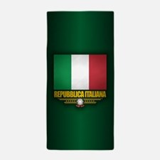 Italian Flag Beach Towel