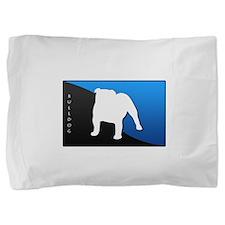 blueblack.png Pillow Sham