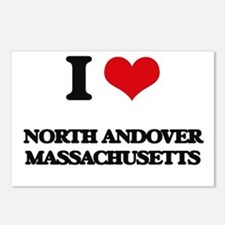 I love North Andover Mass Postcards (Package of 8)