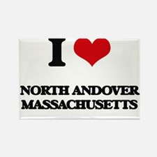 I love North Andover Massachusetts Magnets