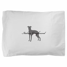 14-greysilhouette2.png Pillow Sham