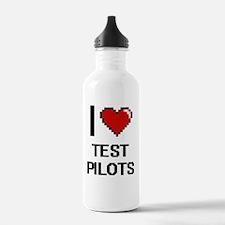 I love Test Pilots Water Bottle