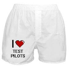 I love Test Pilots Boxer Shorts