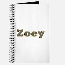 Zoey Gold Diamond Bling Journal