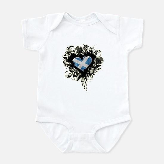Scottish Heart Infant Bodysuit