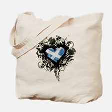 Scottish Heart Tote Bag