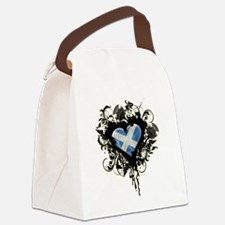 Scottish Heart Canvas Lunch Bag